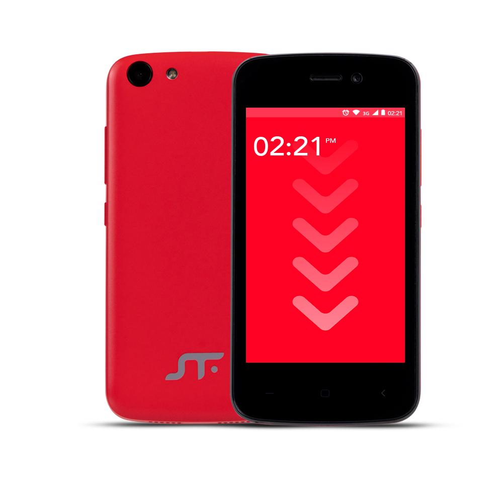 STF Block Go mini color rojo pantalla y cámara