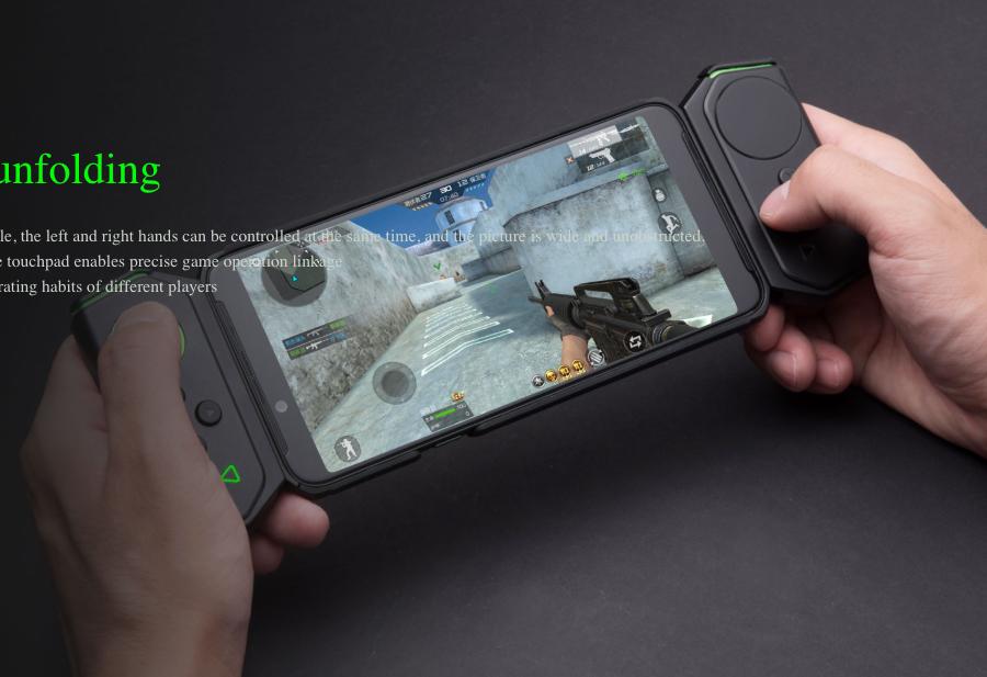 Xiaomi Black Shark Helo - gran desempeño y accesorios para video juegos