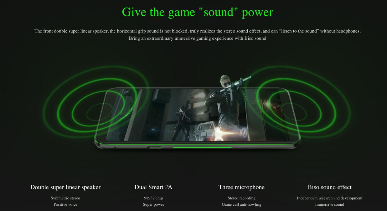 Xiaomi Black Shark Helo - gran desempeño y potentes bocinas frontales