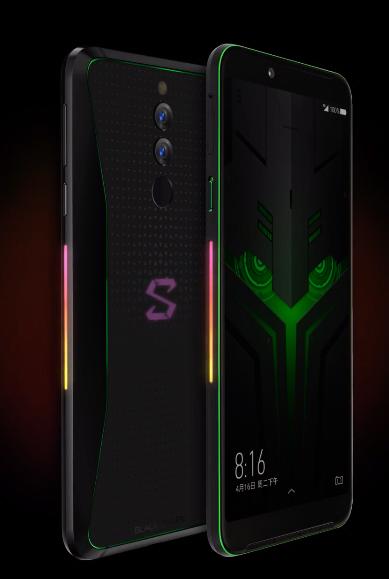 Xiaomi Black Shark Helo - luces interactivas