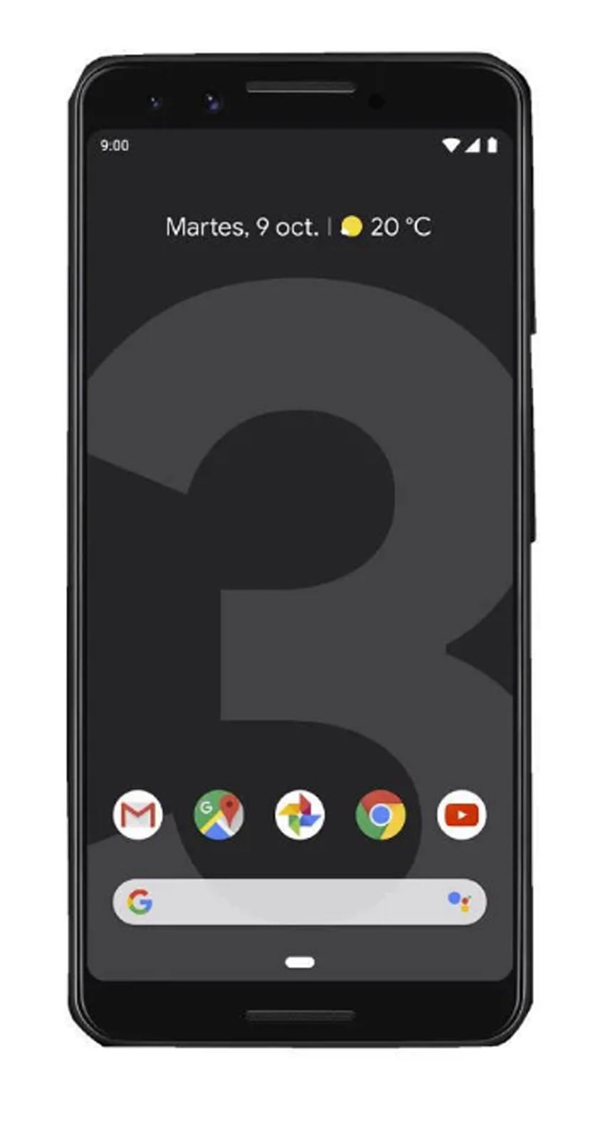 Google Pixel 3 pantalla