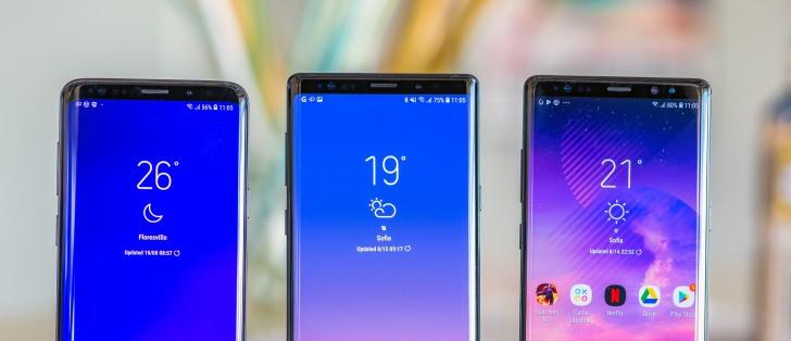 Samsung Galaxy S10 pantalla