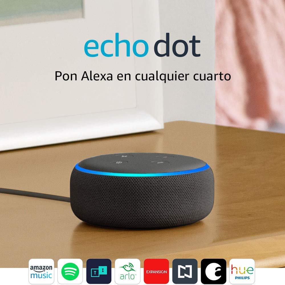 Amazon Echo dot en México