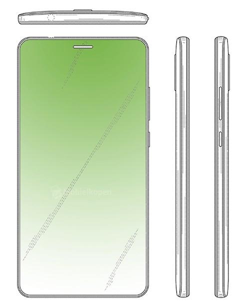 Huawei patente pantalla sin notch solo con hueco para altavoz