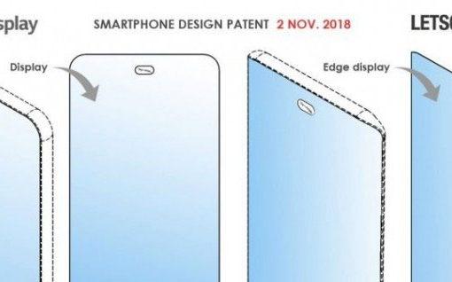 LG pantalla al completo sin bordes con cámara bajo display (patente)