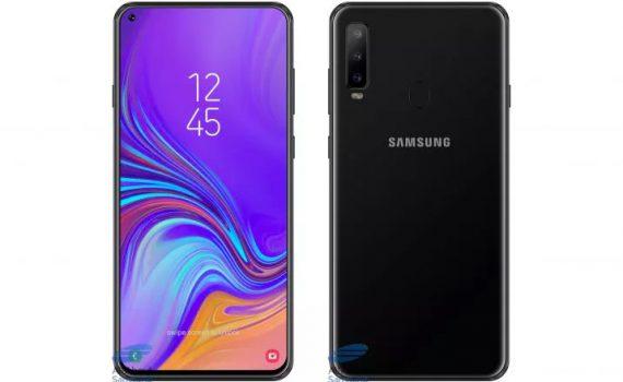 Samsung Galaxy A8s concepto no oficial basado en especificaciones filtradas