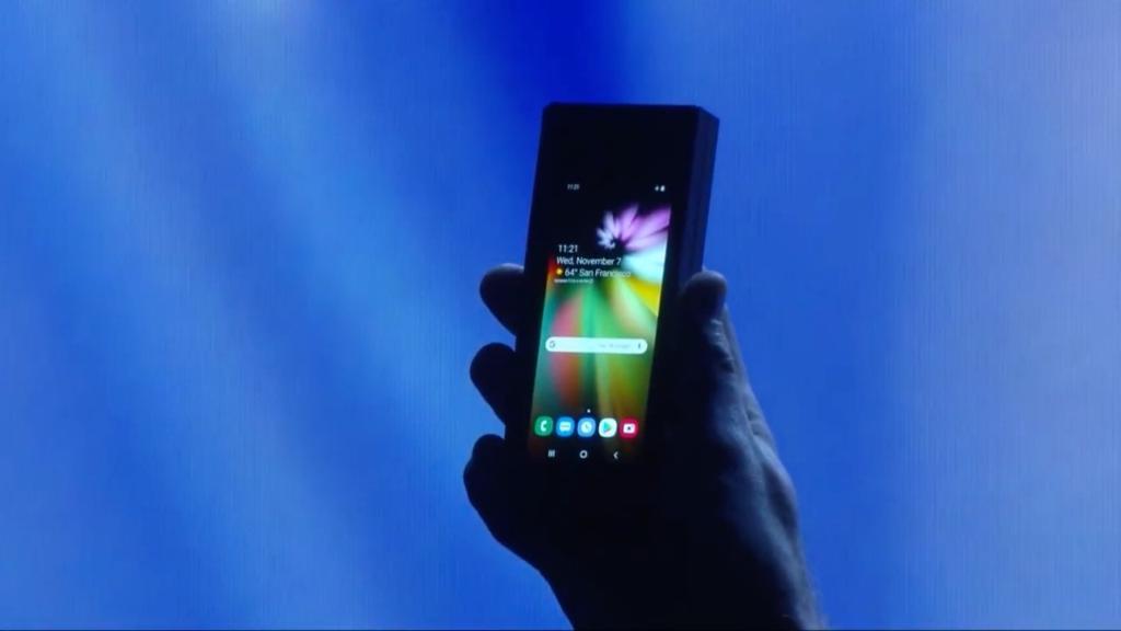 Samsung Infinity Flex Display ¿cómo funciona? - Dispositivo con pantalla para uso normal