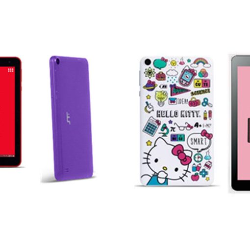 STF Go 7 y 10 además de la Hello Kitty tablet