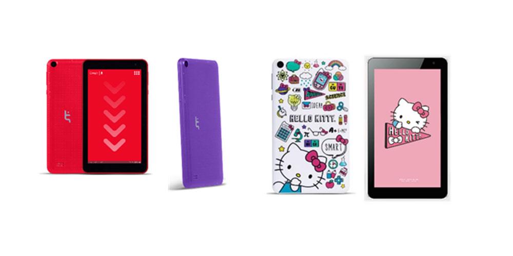 STF Go 7 y 10 además de la Hello Kitty tablet
