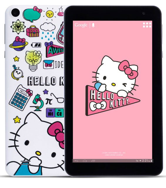 STF Mobile Hello Kitty Tablet con Android Go