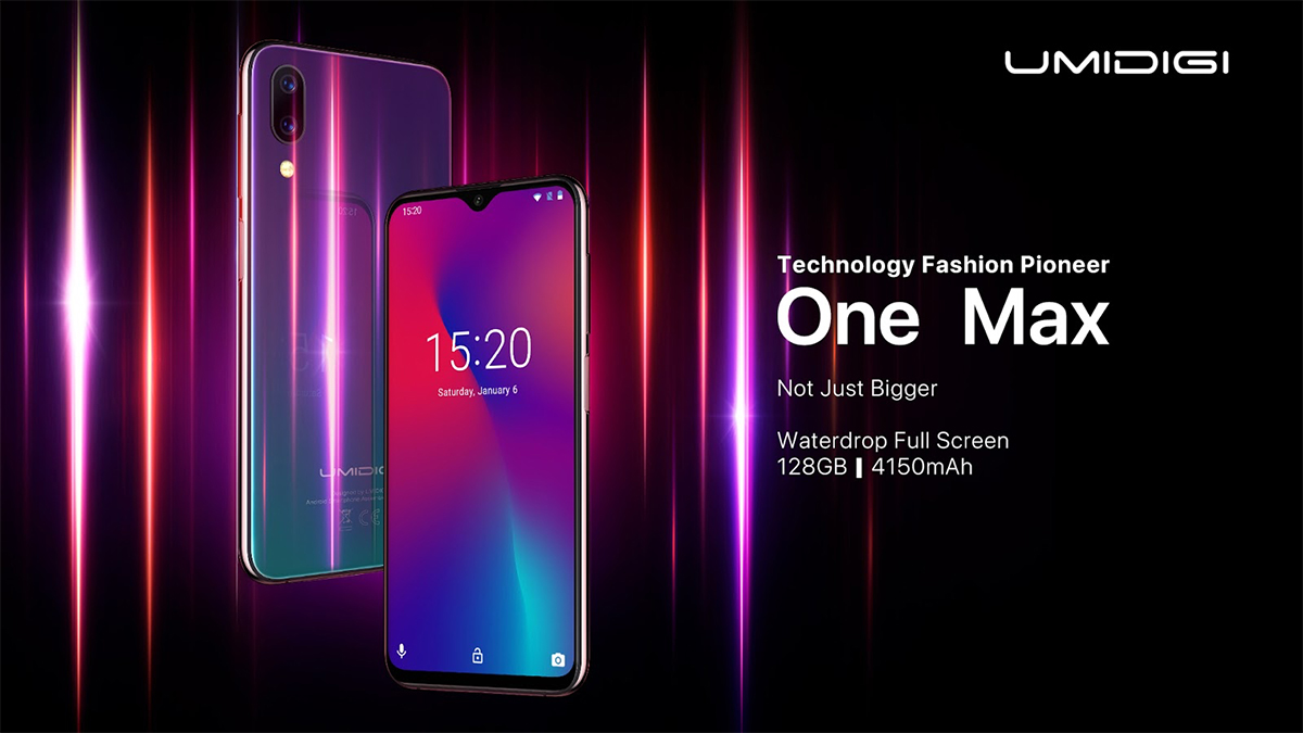 UMIDIGI One Max oficial
