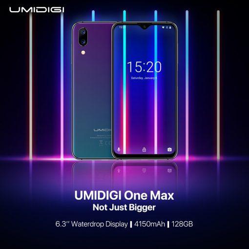 UMIDIGI One Max con pantalla gota de agua y amplia batería
