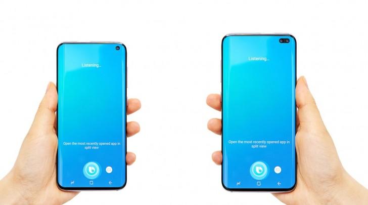 Samsung Galaxy S10+ pantalla