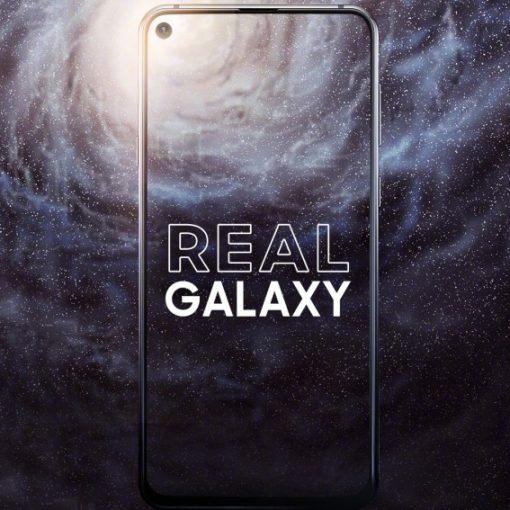 Samsung Galaxy A8s pantalla