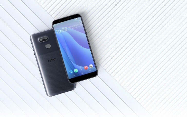 HTC Desire 12s ambos lados