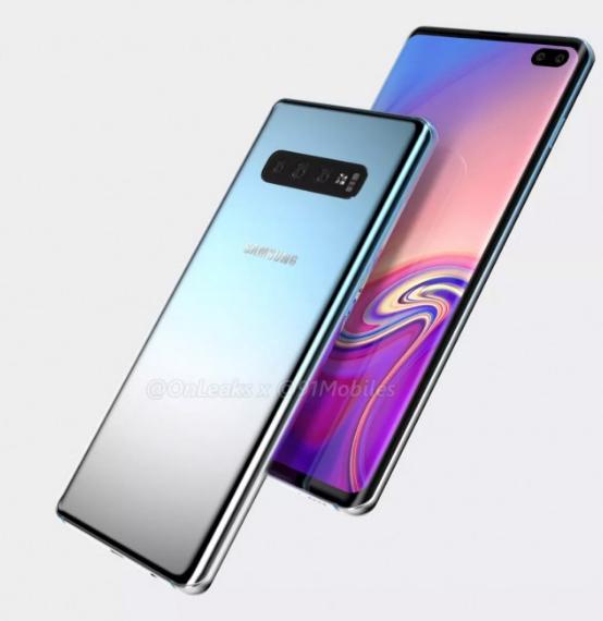 Samsung Galaxy S10 perfil