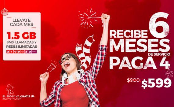 Virgin Mobile paquete conmemorativo