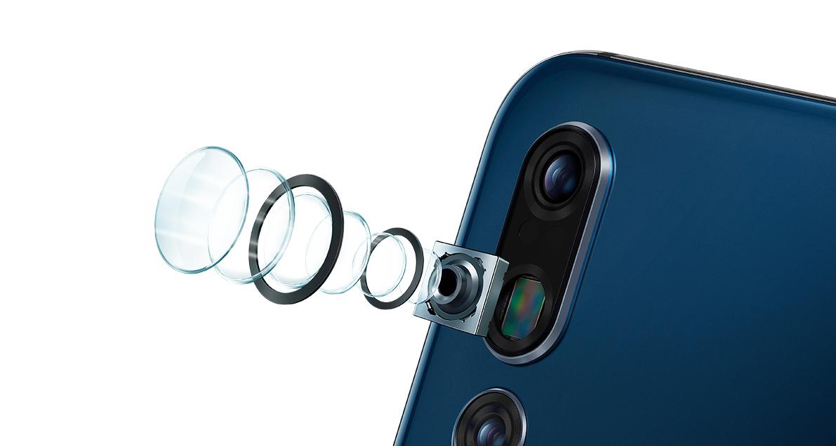 Huawei cámara tríple