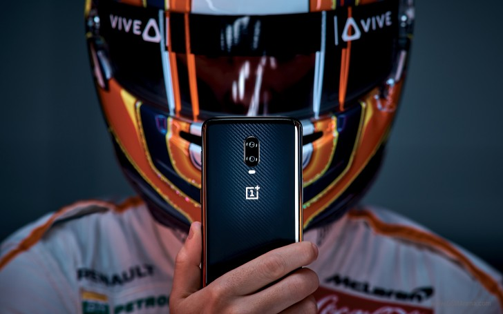 OnePlus 6T Mclaren edition cámara