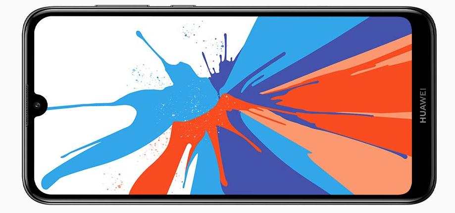 Huawei Y7 2019 pantalla notch waterdrop