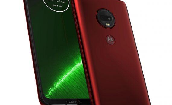 Moto G7 Plus en México color rojo vivo cámara posterior