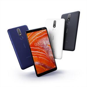 Nokia 3.1 Plus colores