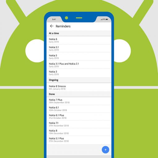 Nokia México roadmap a Android 9 Pipe