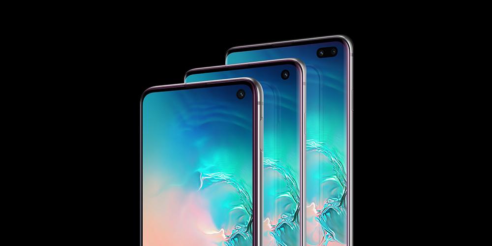 La nueva familia Samsung Galaxy S10