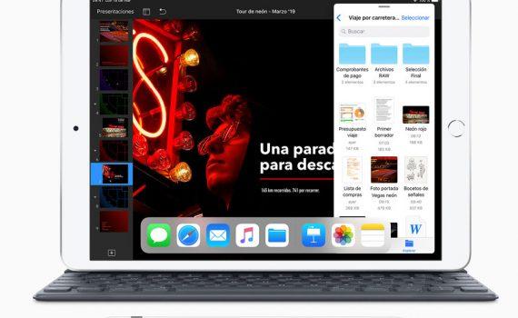 Apple iPad Air 2019 con Smart Keyboard