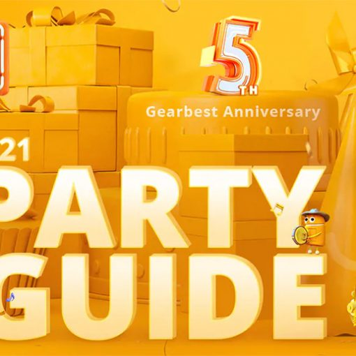 Gearbest Party Guide marzo 2019