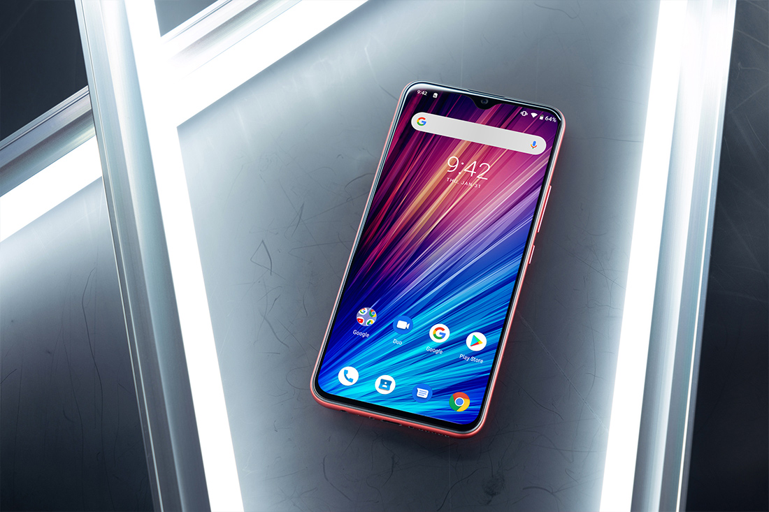 UMIDIGI F1 Play pantalla notch gota