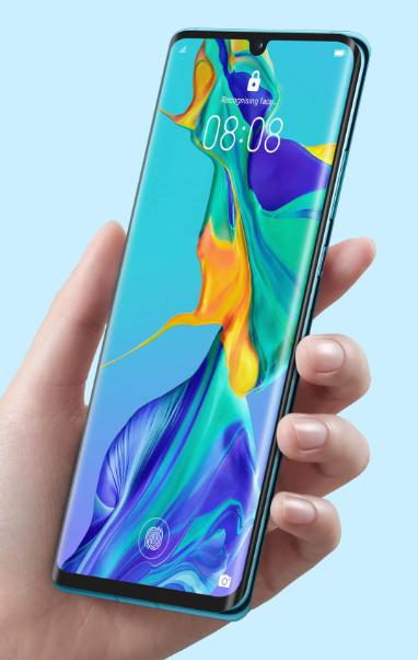 Huawei P30 Pro pantalla con lector de huellas incorporado