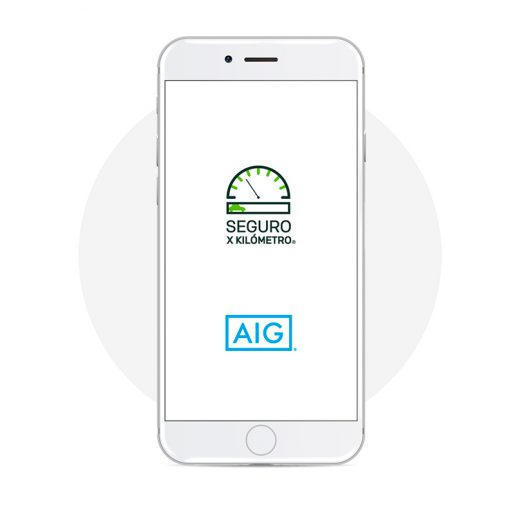 Seguro X Kilómetro app móvil