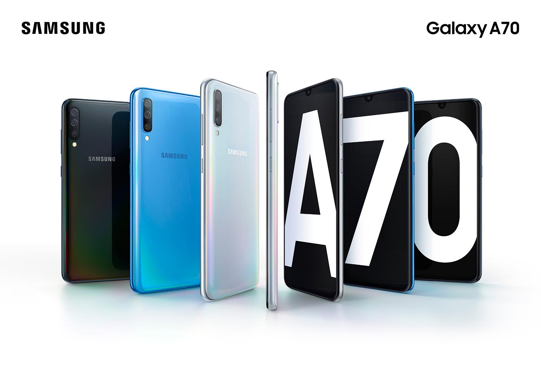 Samsung Galaxy A70 llega a México