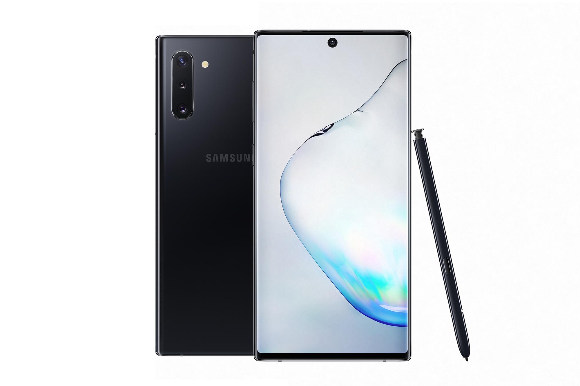 Samsung Galaxy Note 10 Negro Aurora