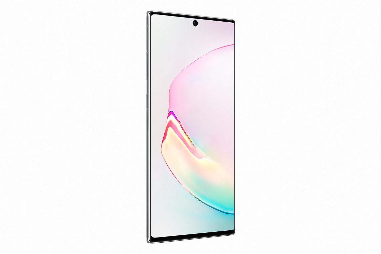 Samsung Galaxy Note 10+ Blanco Aurora perfil