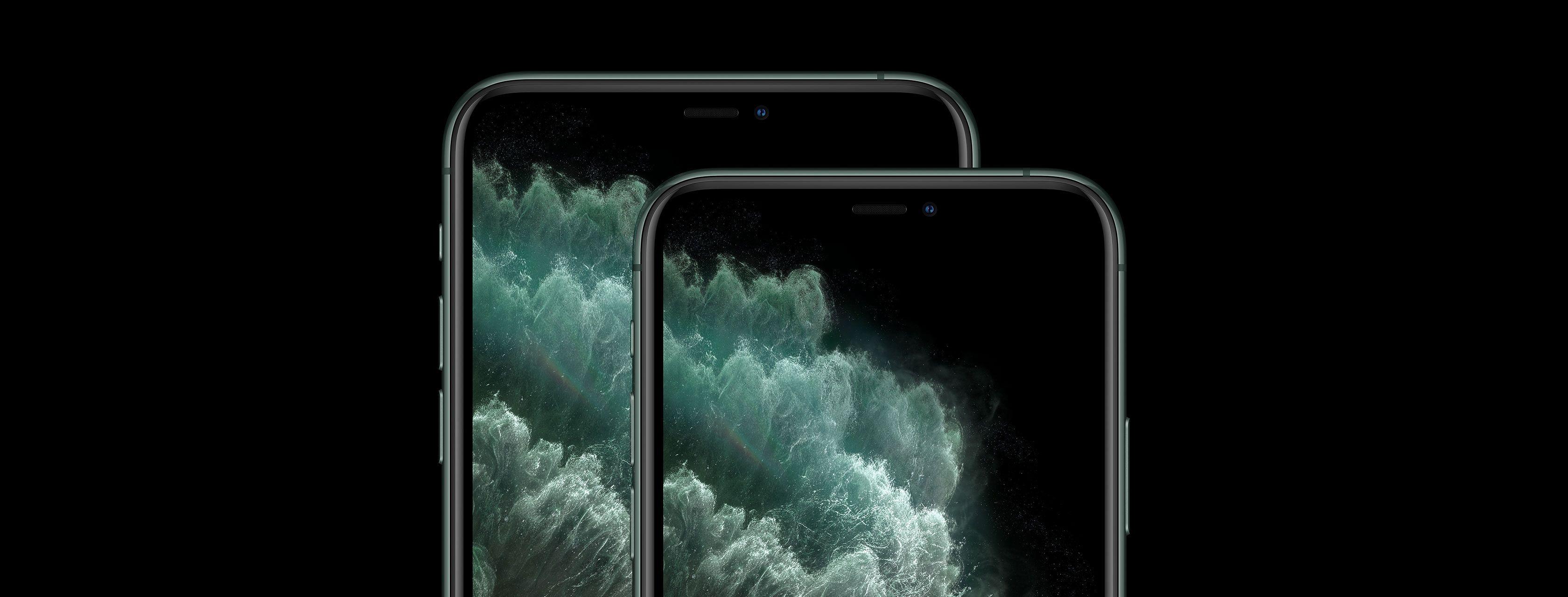 iPhone 11 Pro y Pro Max pantallas