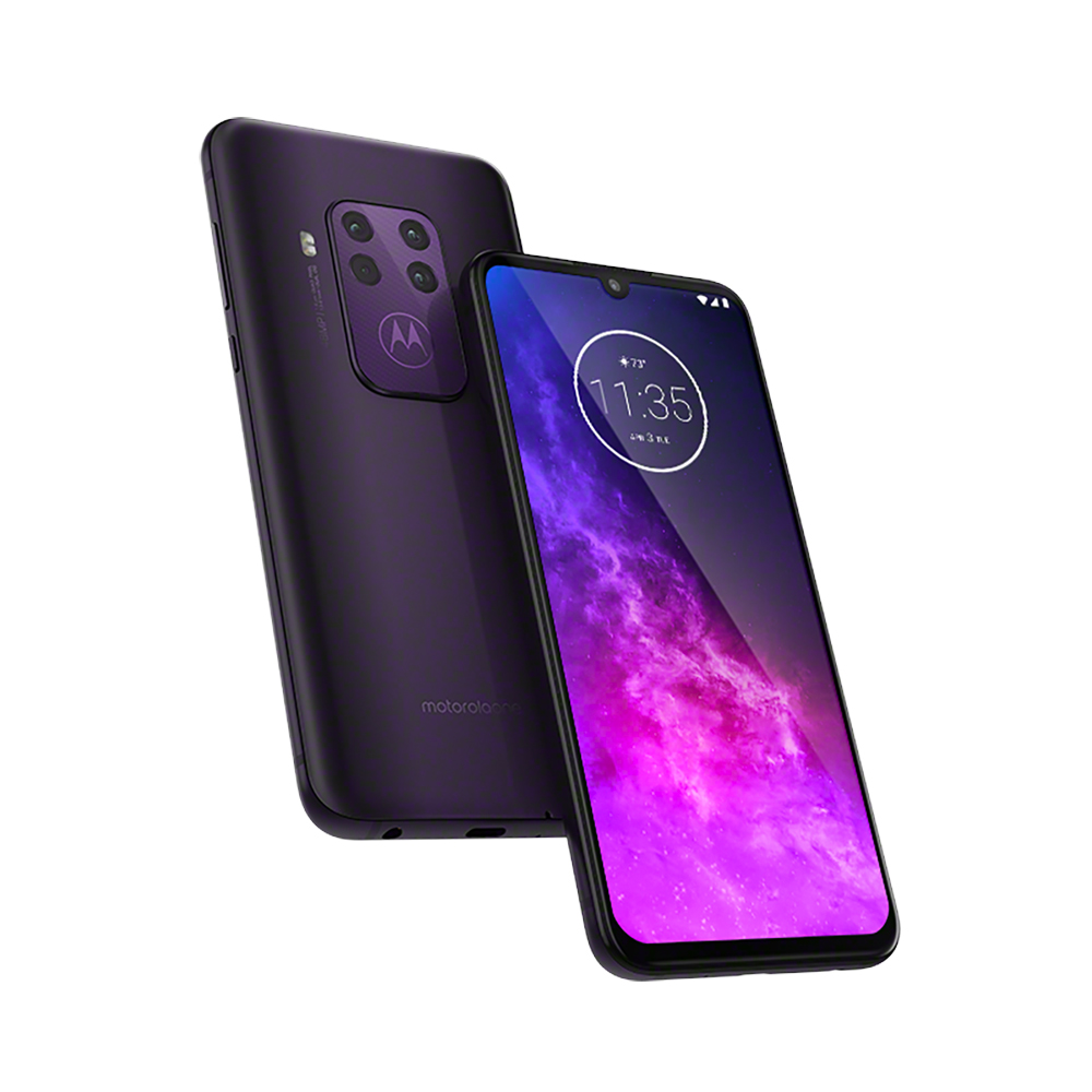 Motorola One Zoom en México color Morado Boreal