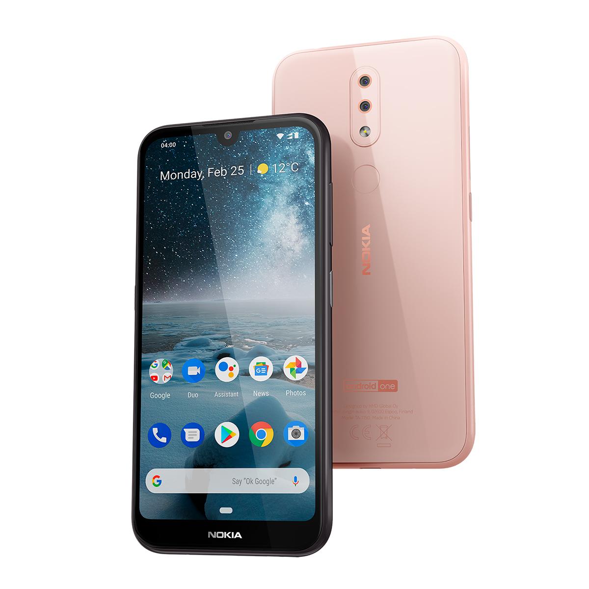 Nokia 4.2 color rosa en México
