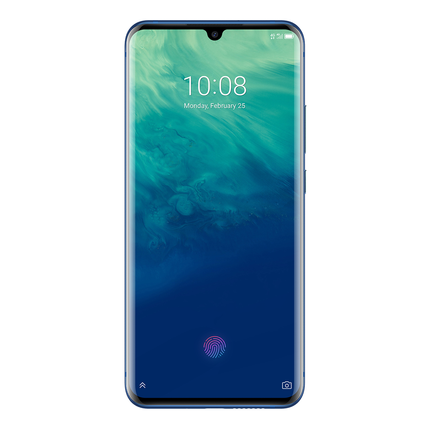 ZTE Axon 10 Pro en México, pantalla con mini notch